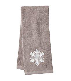 Saturday Knight, Ltd.® Snowflake Hand Towel