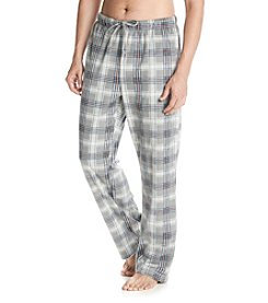 Nautica® Men's Plaid Sueded Fleece Pant