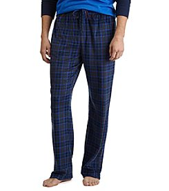 Nautica® Men's Plaid Sueded Fleece Pants