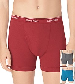 Calvin Klein Men's 3-pk. Colored Band Boxer Brief