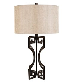 Chic Designs Louth Bronze Metal Decorative Table Lamp