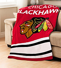 Chicago Blackhawks Sunbeam® Heated Throw