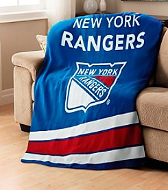 New York Rangers Sunbeam® Heated Throw
