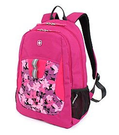 SwissGear® Plum Pass and Aloha Print Backpack