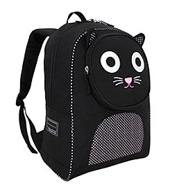 French West Indies Frenchies Salt & Pepper the Cat Backpack