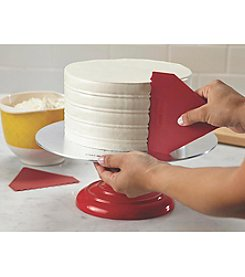 Cake Boss® Decorating Tools 2-pc. Red Plastic Icing Comb Set