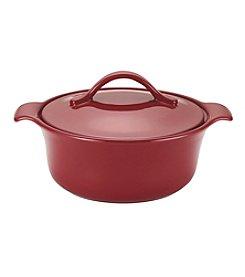 Anolon® Vesta Stoneware 2.5-qt. Paprika Red Round Casserole