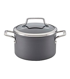Anolon® Authority 4-qt. Hard-Anodized Nonstick Covered Saucepot