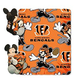 NFL® Cincinnati Bengals Disney™ Mickey Hugger Throw