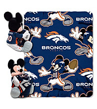 Denver Broncos Disney™ Mickey Hugger Throw