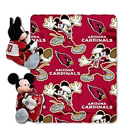 Arizona Cardinals Disney™ Mickey Hugger Throw