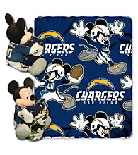 San Diego Chargers Disney™ Mickey Hugger Throw