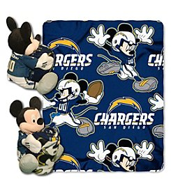 NFL® San Diego Chargers Disney™ Mickey Hugger Throw