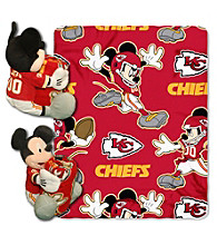 Kansas City Chiefs Disney™ Mickey Hugger Throw