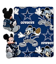 Dallas Cowboys Disney™ Mickey Hugger Throw