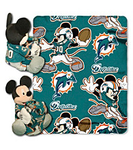 Miami Dolphins Disney™ Mickey Hugger Throw