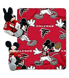 NFL® Atlanta Falcons Disney™ Mickey Hugger Throw
