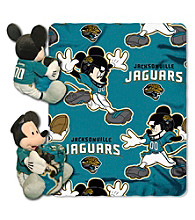 Jacksonville Jaguars Disney™ Mickey Hugger Throw