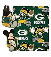 Green Bay Packers Disney™ Mickey Hugger Throw