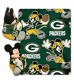 NFL® Green Bay Packers Disney™ Mickey Hugger Throw