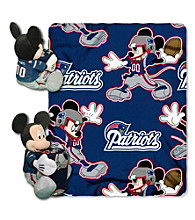 New England Patriots Disney™ Mickey Hugger Throw