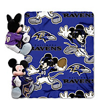 Baltimore Ravens Disney™ Mickey Hugger Throw