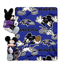 NFl® Baltimore Ravens Disney™ Mickey Hugger Throw