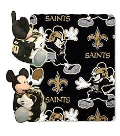 New Orleans Saints Disney™ Mickey Hugger Throw