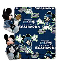 Seattle Seahawks Disney™ Mickey Hugger Throw