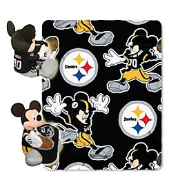 NFL® Pittsburgh Steelers Disney™ Mickey Hugger Throw