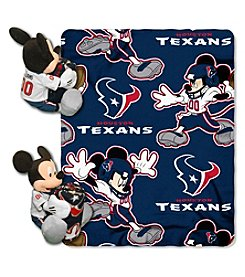 NFL® Houston Texans Disney™ Mickey Hugger Throw