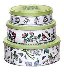 Portmeirion® Botanic Garden Set of 3 Nesting Cake Tins