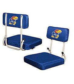 NCAA® University of Kansas Hard Back Stadium Seat
