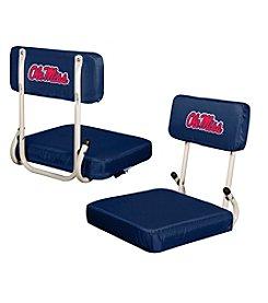 NCAA® University of Mississippi Hard Back Stadium Seat