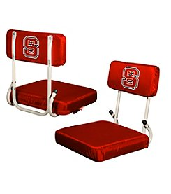 North Carolina State University Logo Chair Hard Back Stadium Seat