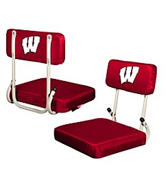 NCAA® University of Wisconsin Hard Back Stadium Seat