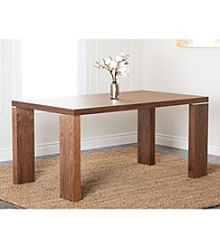 Abbyson Living® Vale Rectangle Walnut Dining Table