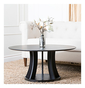 Abbyson Living® Destiny Espresso Round Coffee Table