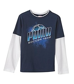 PUMA® Boys' 2T-20 Soccer Layered Top
