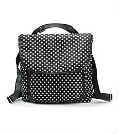 GAL Black Dot Retro Convertible Backpack/Crossbody