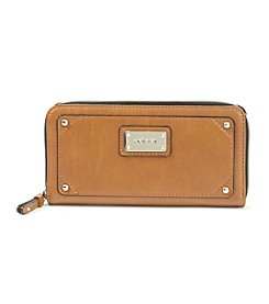 Nine West® Cognac Table Treasures Small Zip Around