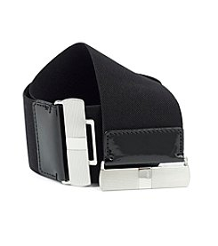 Lauren Ralph Lauren Wide Stretch Belt - Black