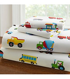 Olive Kids Trains, Planes and Trucks Sheet Set