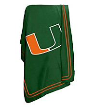 University of Miami Logo Chair Classic Fleece