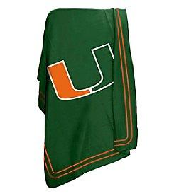 University of Miami Logo Chair Classic Fleece
