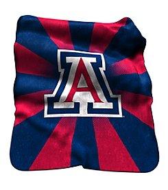 University of Arizona Logo Chair Raschel Throw