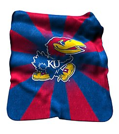 NCAA® University of Kansas Raschel Throw