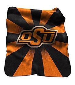 Oklahoma State University Logo Chair Raschel Throw