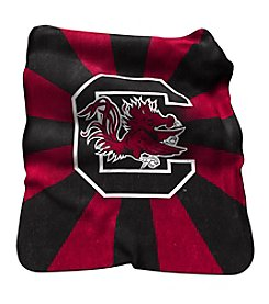 University of South Carolina Logo Chair Raschel Throw