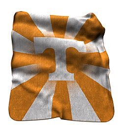 University of Tennessee Logo Chair Raschel Throw